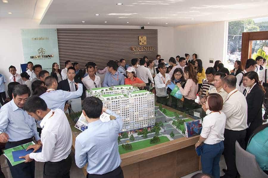 Hưng Thịnh Corp khai trương căn hộ mẫu Sky Center