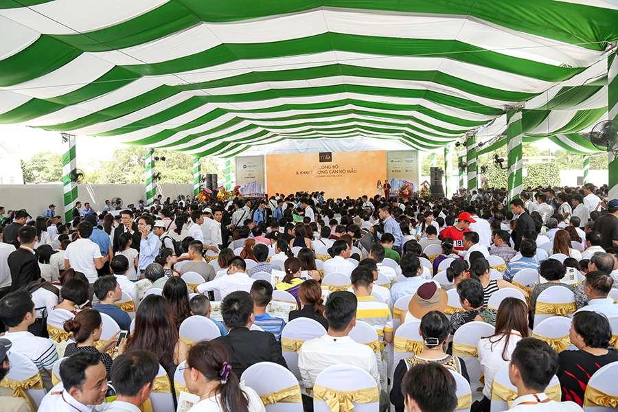 Toàn cảnh Lễ công bố và Khai trương căn hộ mẫu Saigon Mia ngày 08/5/2016