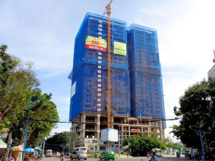 Vung Tau Melody gồm 26 tầng, trong đó có 05 tầng thương mại và 21 tầng căn hộ