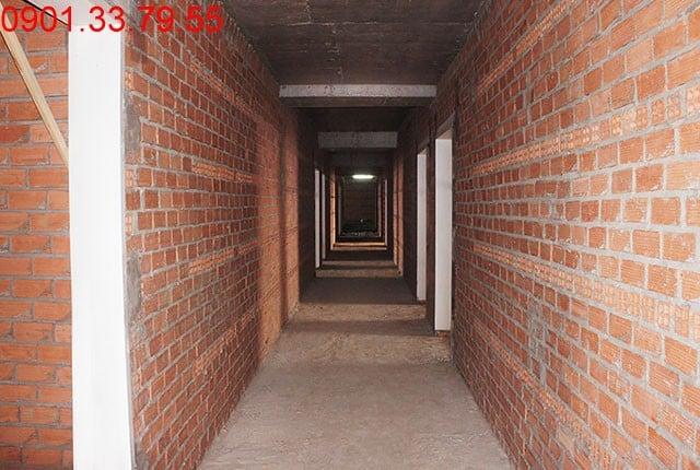 Thi công cột sàn tầng 16 - Block B căn hộ Florita Himlam