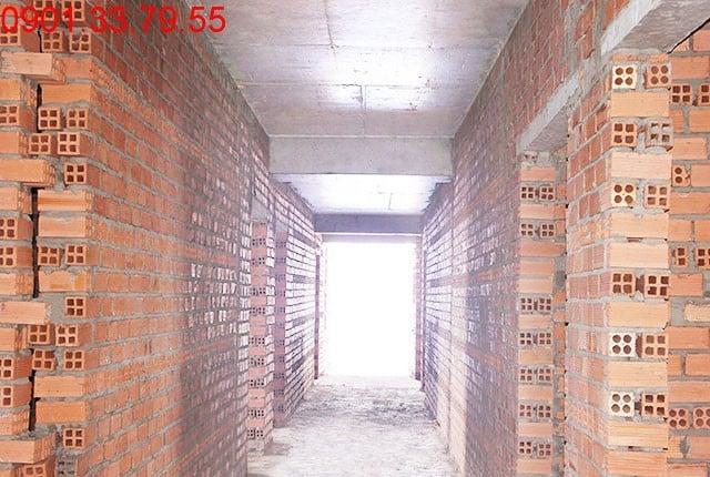 Lắp khung cửa tầng 17 - block A