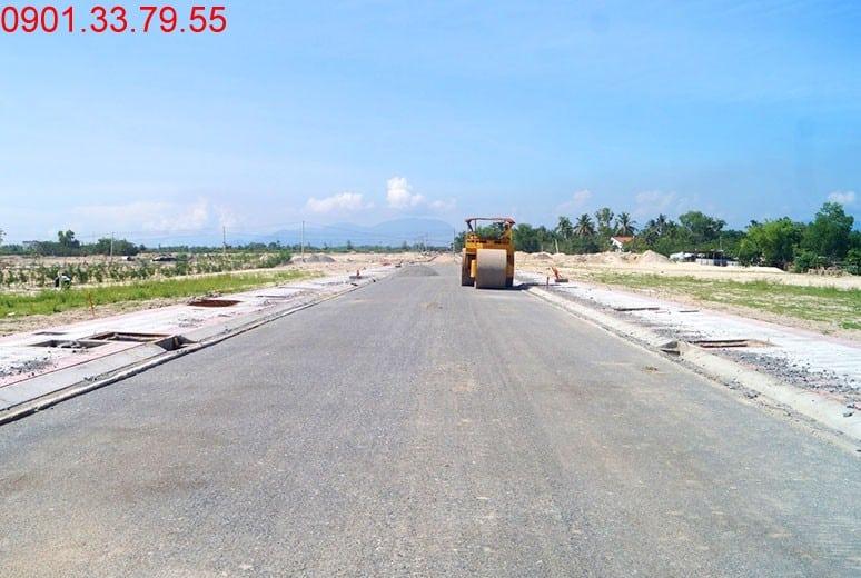 Công tác thi công đường D9 - khu D16