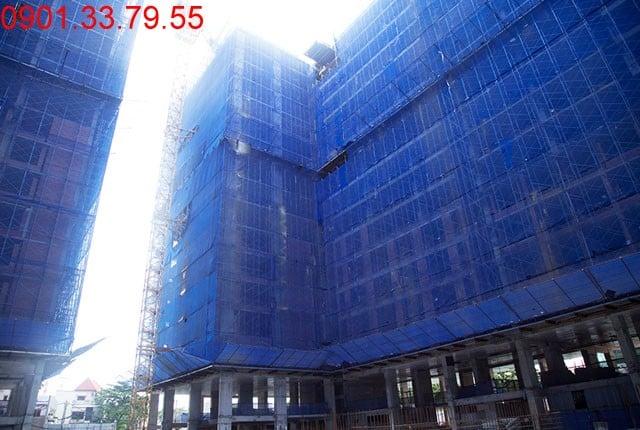 Tổng thể block C Sky Center Tân Bình