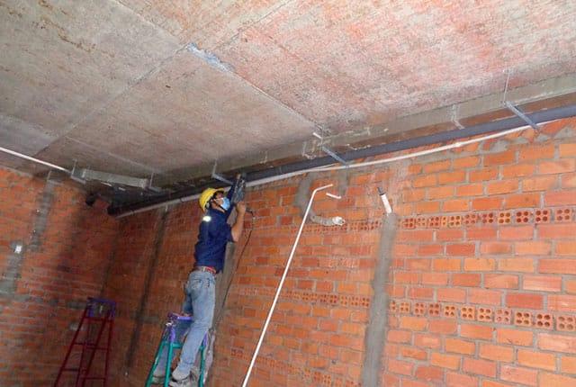 Lắp đặt hệ thống điện lạnh từ tầng 6 đến tầng 20 block B