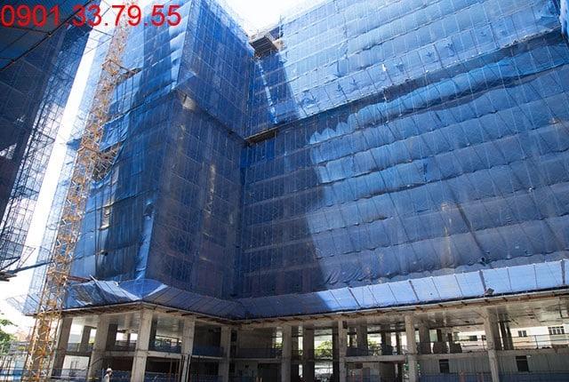Tổng thể block A căn hộ Sky Center