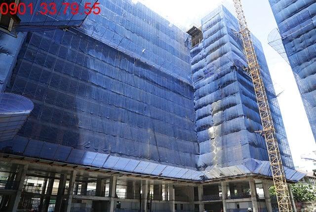 Tổng thể block B căn hộ Sky Center Phổ Quang