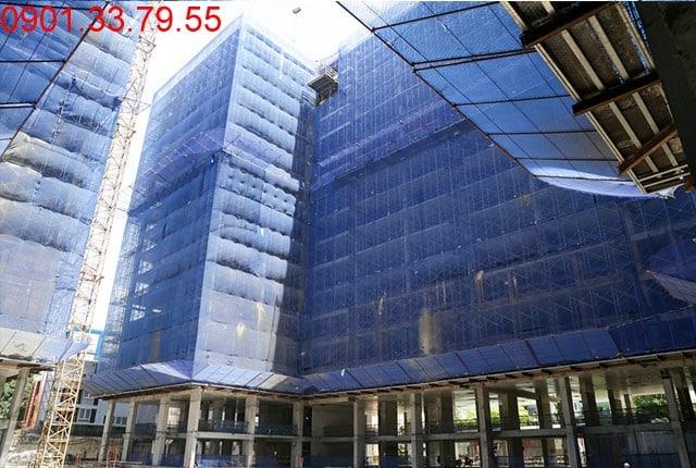 Tổng thể block C căn hộ Sky Center Hưng Thịnh