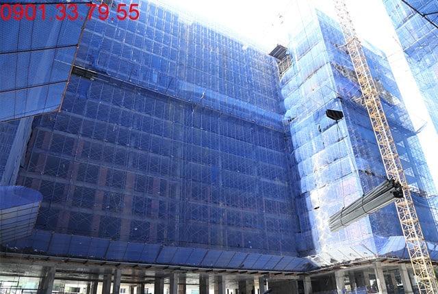 Tổng thể block D căn hộ Sky Center Tân Bình