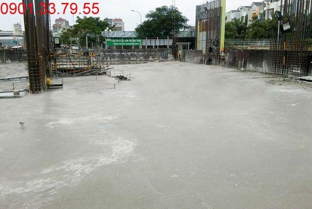 Đổ bê tông sàn tầng 1 - Block C căn hộ 9 View Hưng Thịnh