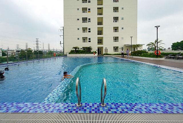 Hồ bơi khu căn hộ Lavita Garden