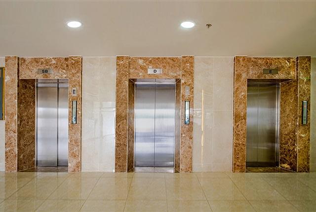 Hệ thống thang máy khu căn hộ Lavita Garden