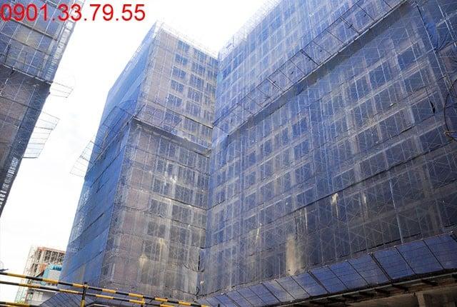 Hình ảnh thi công tổng thể block C dự án Sky Center