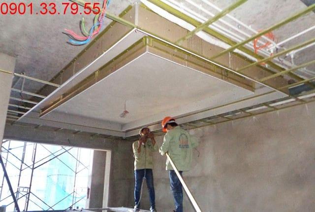 Lắp đặt hệ thống điện từ tầng 7 đến tầng 19 block A, tầng 6 đến tầng 22 block B chung cư Vũng Tàu Melody