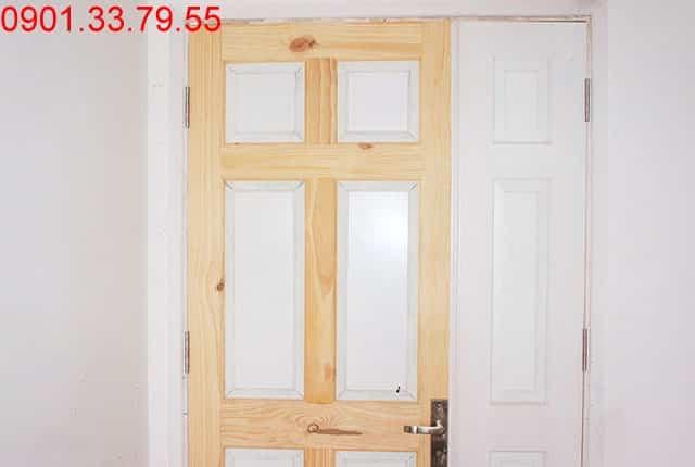 Lắp cửa chính căn hộ tầng 9 - block A Melody Residences Hưng Thịnh
