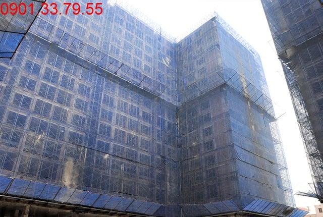Hình ảnh thi công tổng thể block D căn hộ ky Center