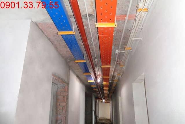 Lắp đặt hệ thống PCCC tầng 9 và 10 block A du an Vũng Tàu Melody