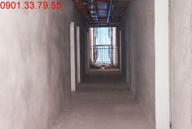 Hoàn thành tô tường căn hộ - block B căn hộ Melody Residences