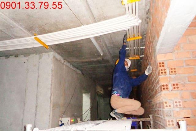 Lắp đặt hệ thống điều hòa không khí từ tầng 7 đến tầng 19 block A dự án Melody Vũng Tàu