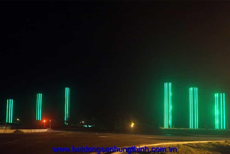 Quảng trường về đêm Golden Bay Cam Ranh Hưng Thịnh