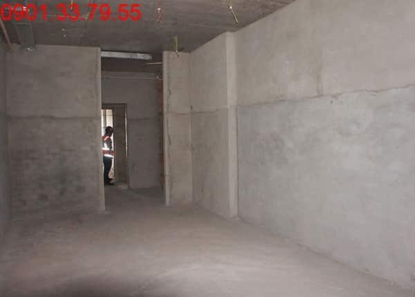 Đang hoàn thiện căn hộ mẫu chung cư Sky Center Tân Bình