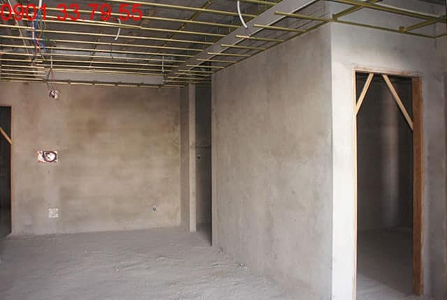 Đang hoàn thiện căn hộ mẫu căn hộ Sky Center Hưng Thịnh