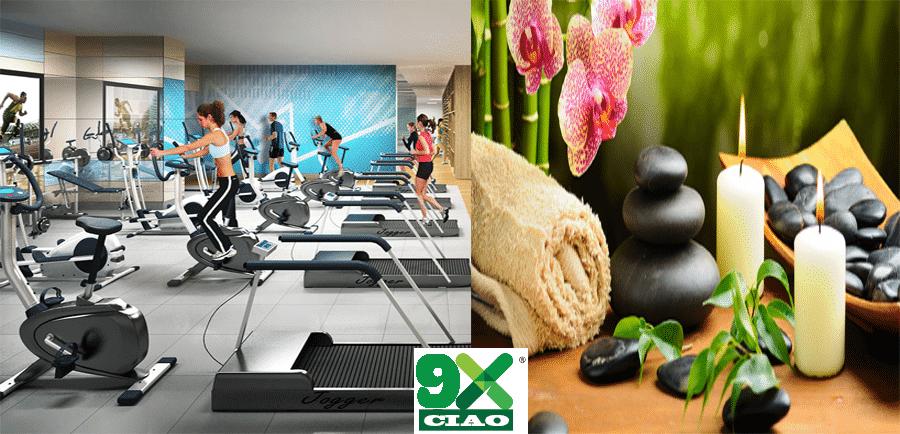 Tiện ích gym-Spa tại Ciao 9X