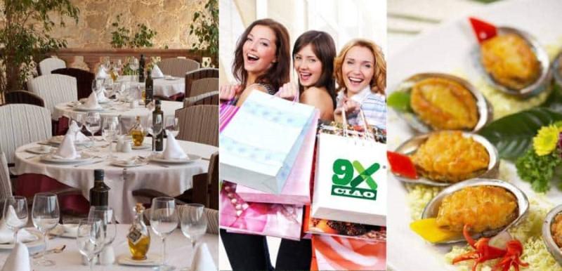 Trung Tâm Thương Mại, khu ẩm thực, nhà hàng tại 9X Ciao