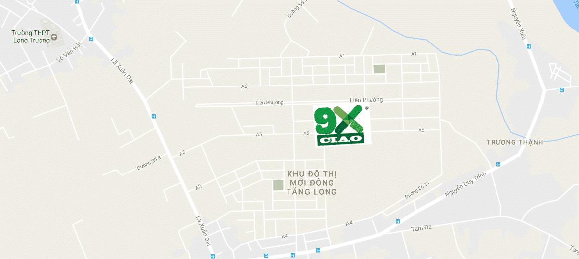 Vị trí dự án 9X Ciao quận 9