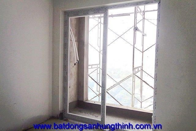 Lắp đặt cửa nhựa từ tầng 6 đến tầng 12 block B căn hộ Melody Vũng Tàu