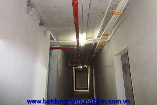 Lắp đặt hệ thống PCCC từ tầng 6 đến tầng 24 block B chung cư Vũng Tàu Melody Hưng Thịnh