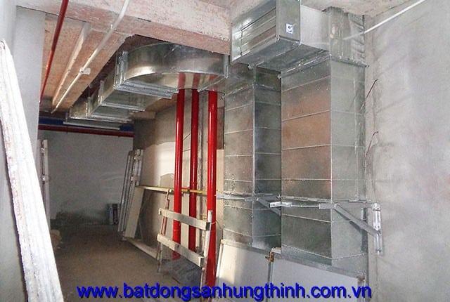 Lắp đặt hệ thống điều hòa không khí từ tầng 5 đến tầng 25 block A, B Melody Vũng Tàu