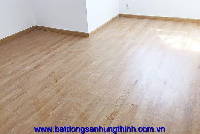 Công tác lát sàn gỗ tầng 9 block A can ho chung cư Melody Vũng Tàu