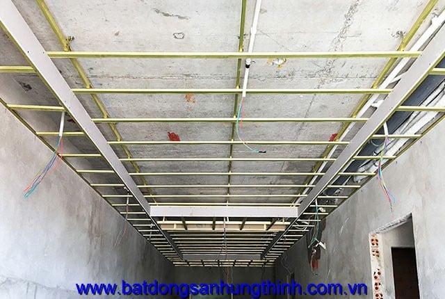 Đóng trần thạch cao từ tầng 6 đến tầng 20 block B dự án Vũng Tàu Melody