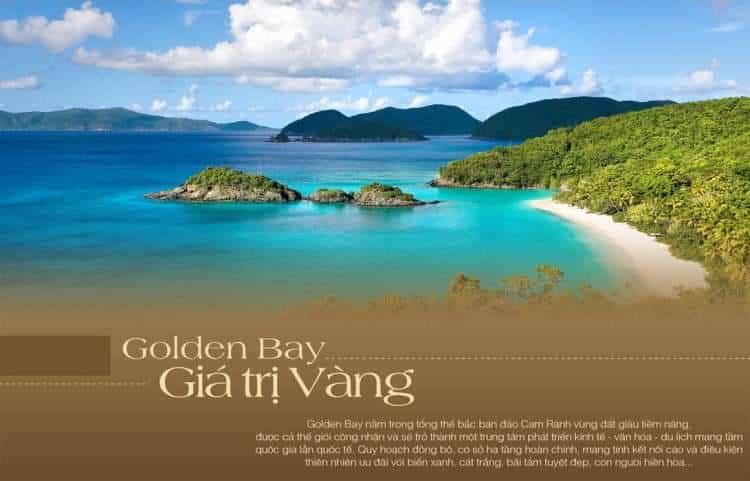 Golden Bay City Cam Ranh giá trị vàng bên vịnh vàng