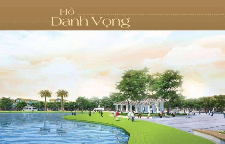 Hồ danh vọng nên lưu lại dấu ấn của các chủ nhân đầu tiên tại dự án khu đô thị Golden Bay Hưng Thịnh