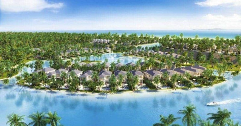 Phoi canh Camranh Universe Villa