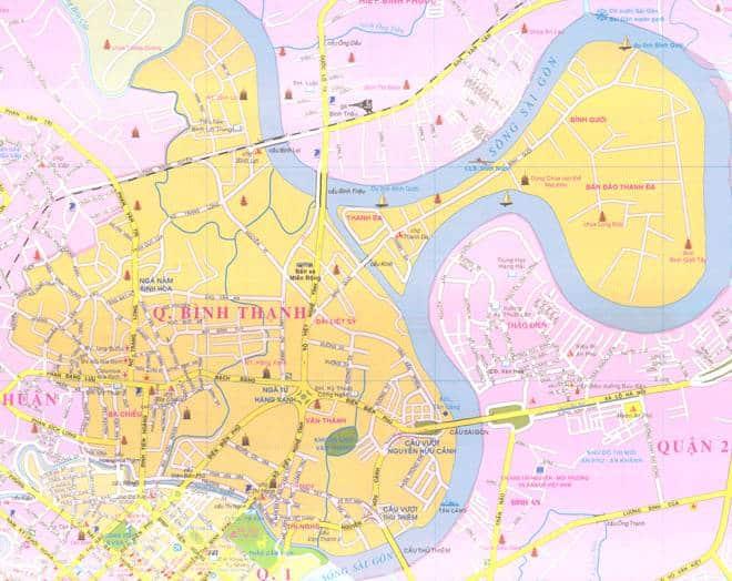 Bản đồ quận Bình Thạnh