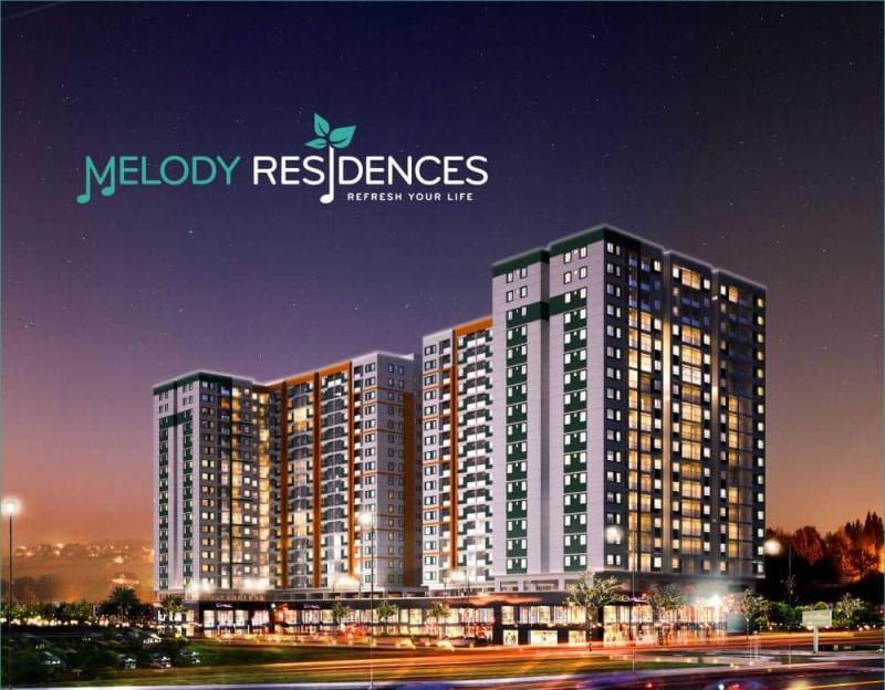 Phối cảnh dự án Melody Residences
