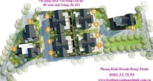 Mặt bằng Biệt Thự Villa Đà Lạt - Hưng Thịnh Đà Lạt