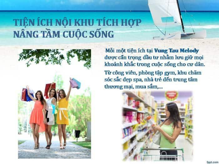 Tiện ích nội khu Melody Vũng Tàu