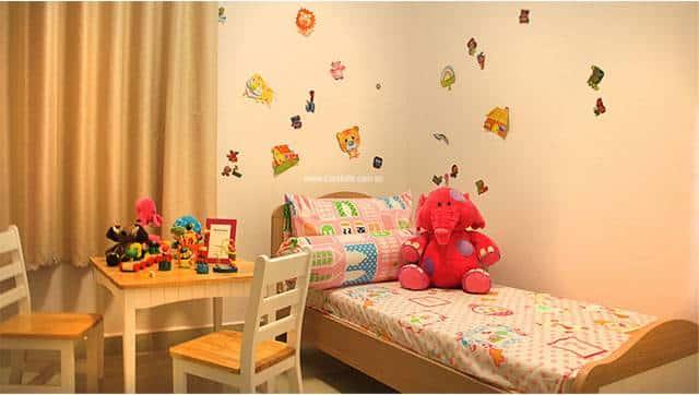 Căn hộ mẫu 8X Plus - phòng ngủ nhỏ