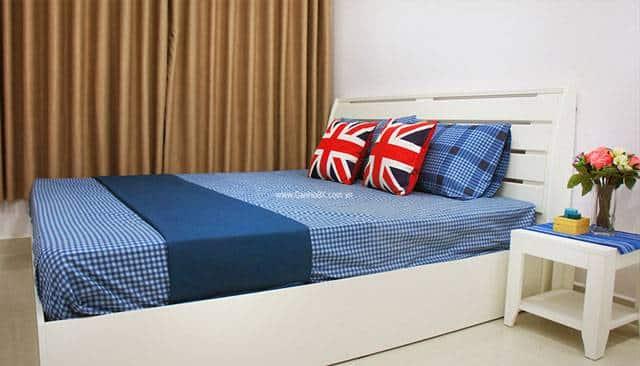 Căn hộ mẫu 8X Plus - phòng ngủ lớn