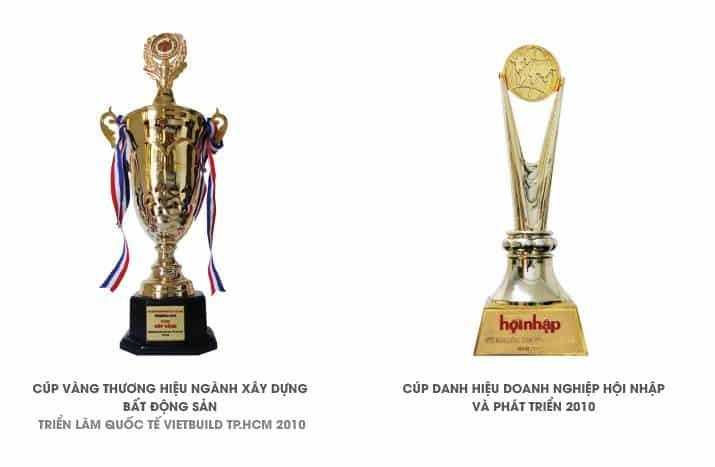 các giải thưởng của hưng thịnh corp năm 2010