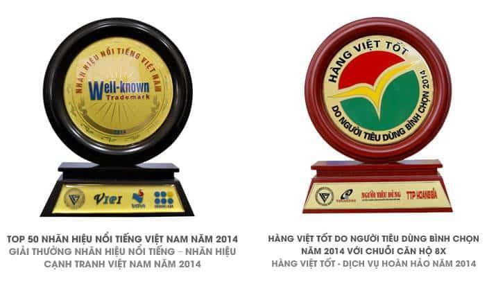 các giải thưởng của hưng thịnh corp năm 2014
