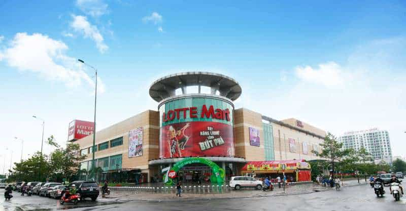 Siêu thị Lotte Mart quận 7 cách dự án Florita 500m