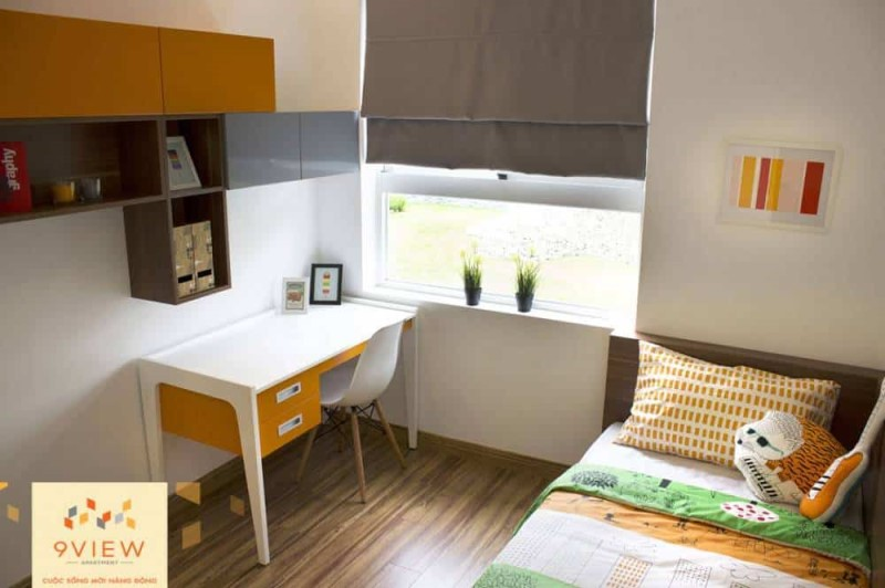 nhà mẫu căn hộ 9 view -phòng ngủ nhỏ