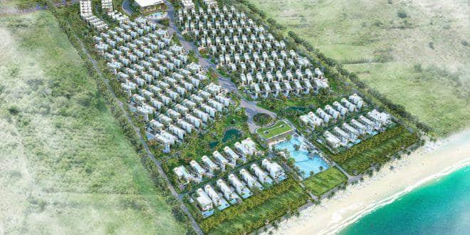 Mat bang thiet ke Cam Ranh mystery Villas