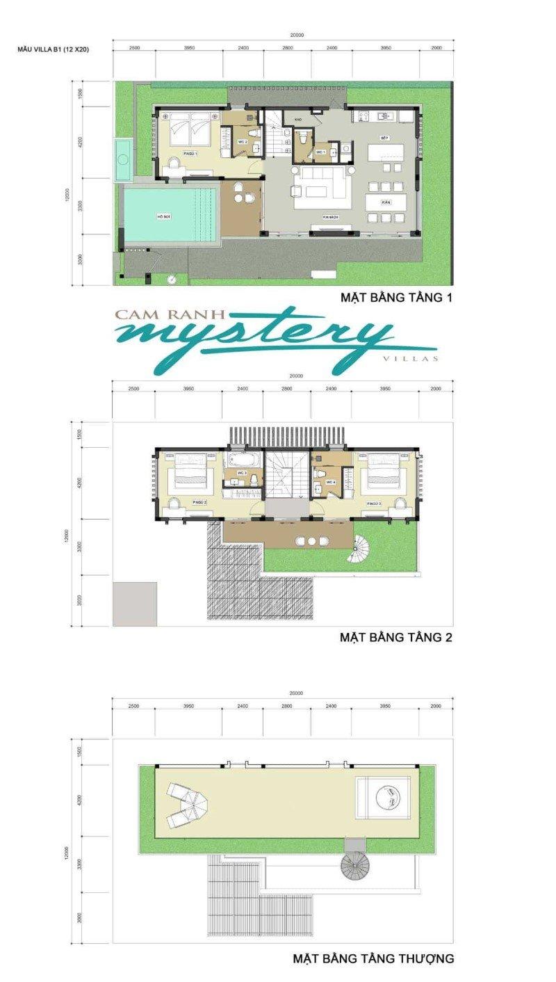 Chi tiết thiết kế biệt thự Cam Ranh Mystery Villas