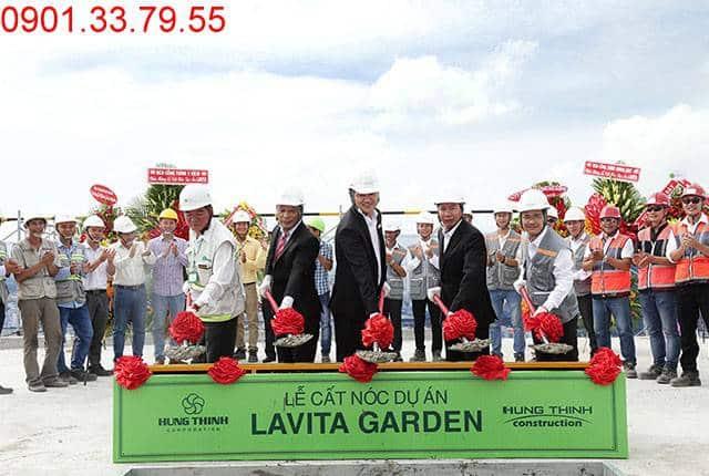 Hình ảnh lễ cất nóc dự án Lavita Garden ngày 14-05-2017