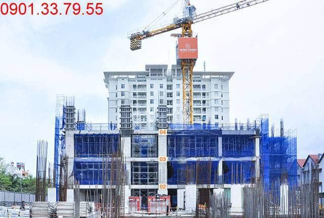 Thi công cốp pha sàn tầng 4 - block Southern Saigon Mia Trung Sơn